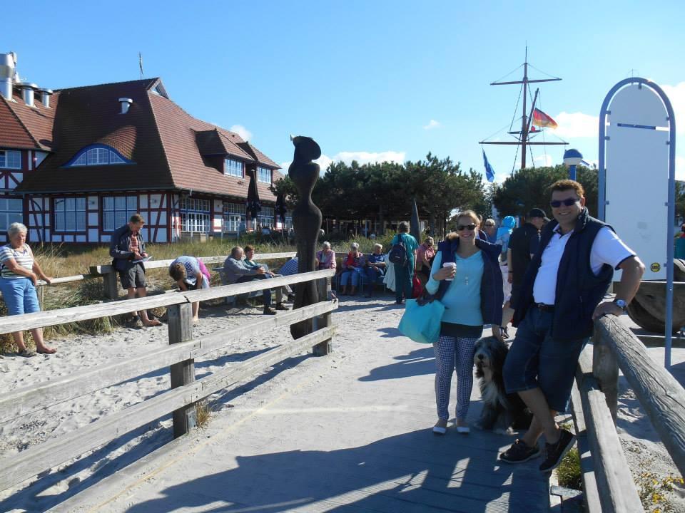 Auf der Seebrücke Zingst