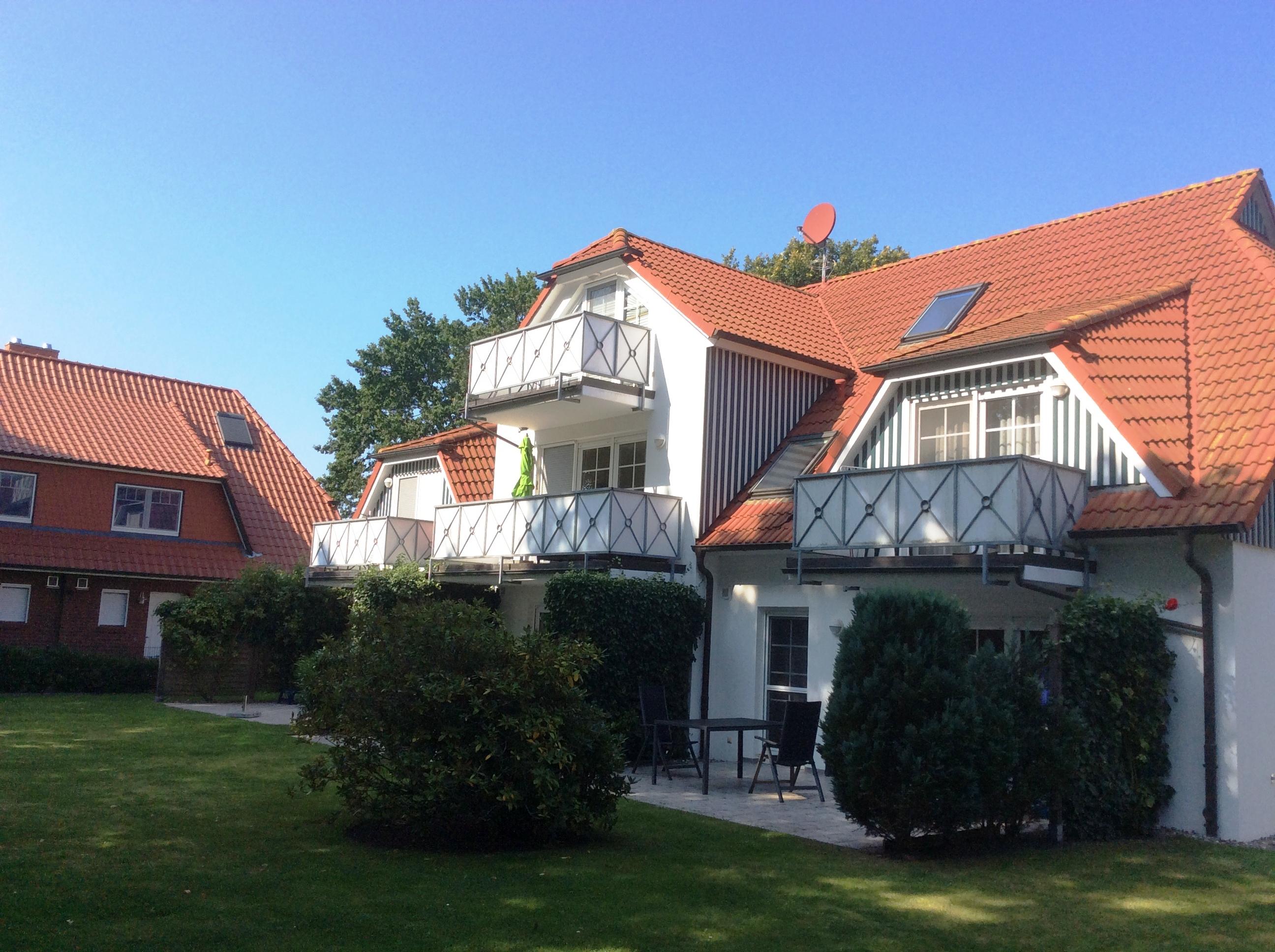 Ansicht Garten Casa Del Mar Zingst