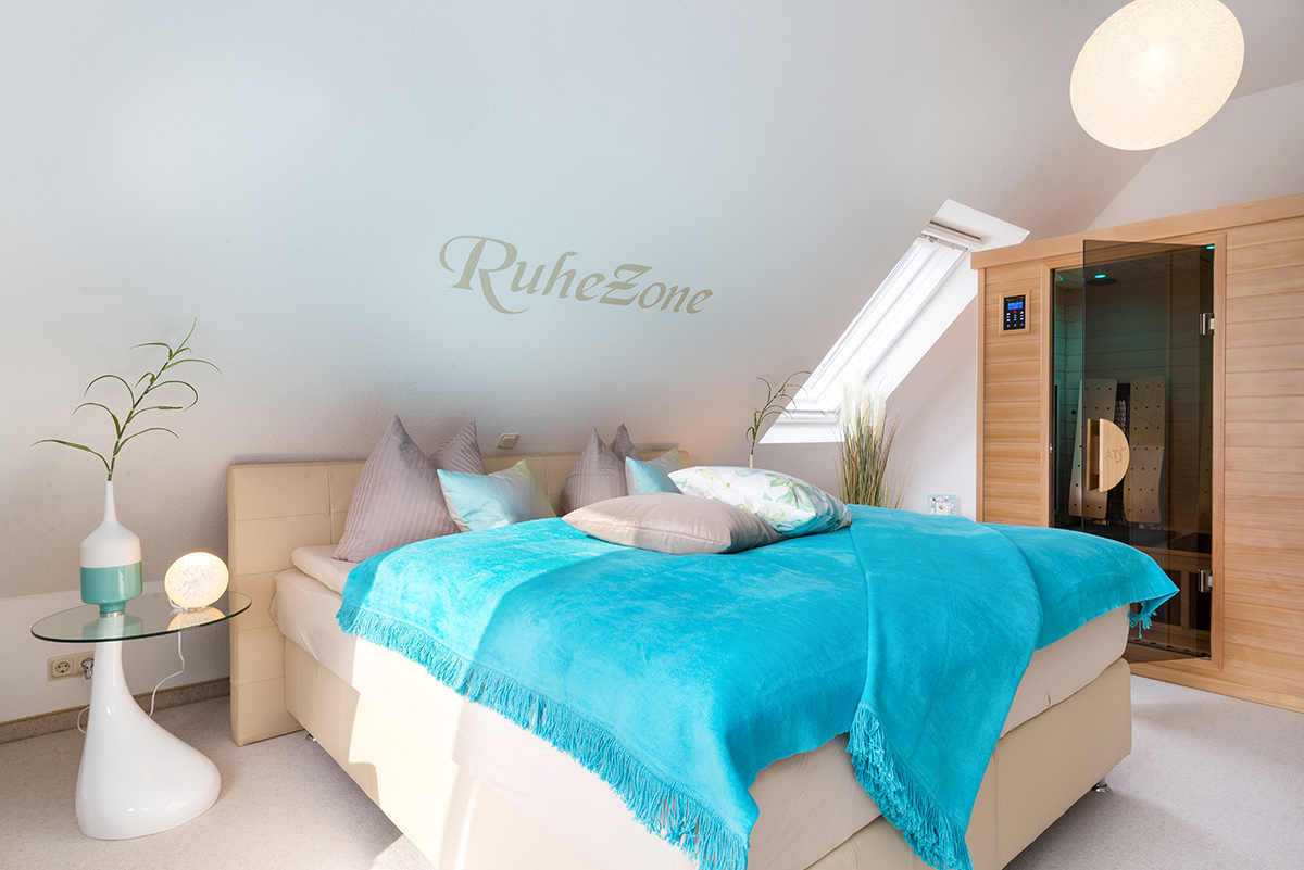 Boxspringbett Schlafzimmer 1 Casa Del Mar Zingst