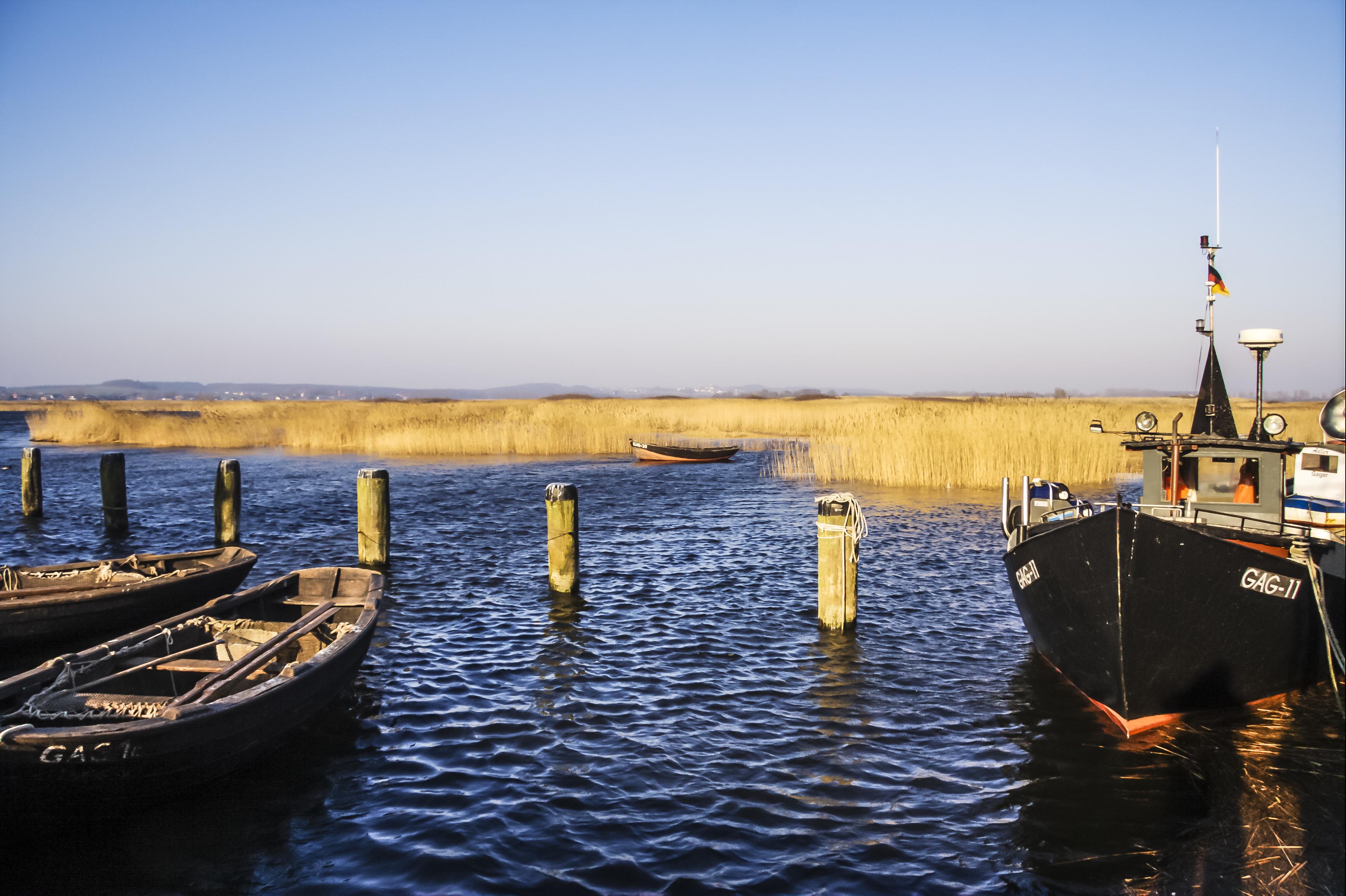 Fischerboote FeWos Del Mar Zingst