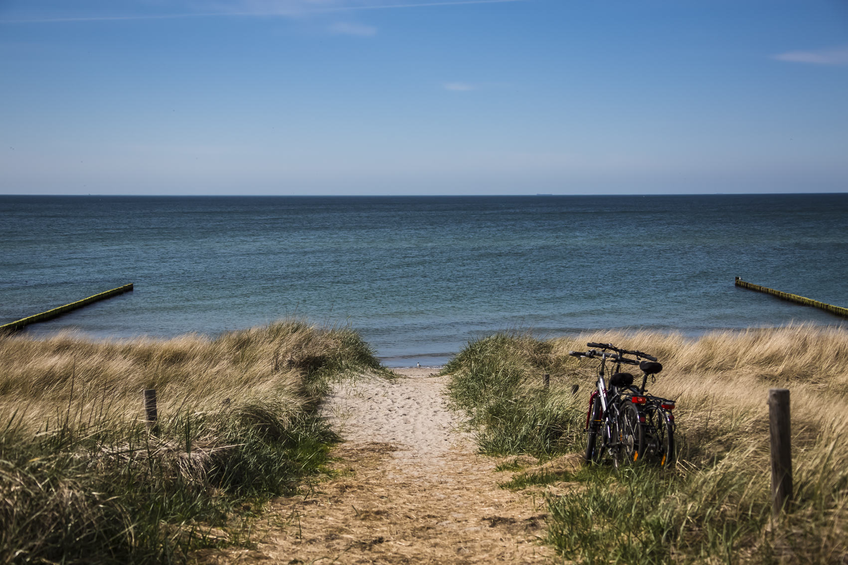 Strandübergang FeWos Del Mar Zingst
